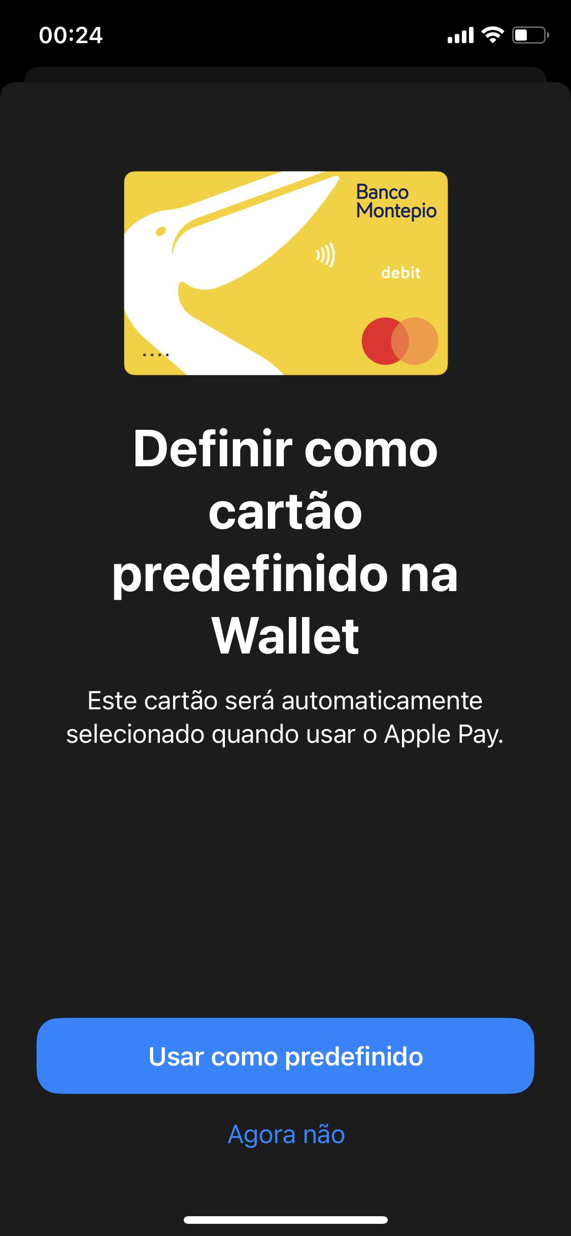 Montepio Apple Pay
