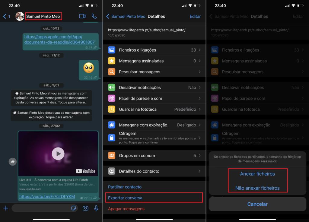Como transferir as conversas do WhatsApp para o Telegram